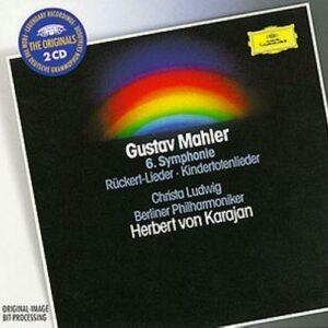 Mahler : Kindertotenlieder, Rückertlieder. Ludwig, Karajan