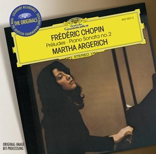 Chopin : Preludes-Sonate N2-Martha Argerich
