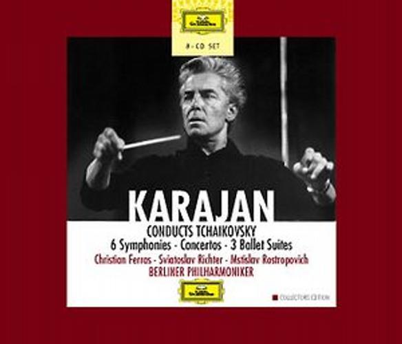 Tchaikovski : Symphonies-Ballets-Concertos-Karajan