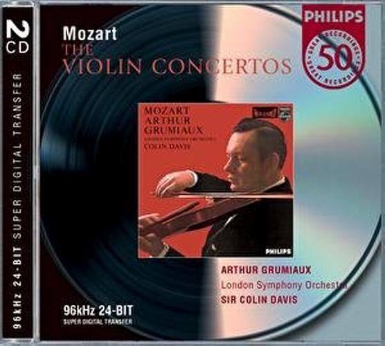Mozart : Concertos Pour Violon Et Sonates-Arthur Grumiaux-Lso-