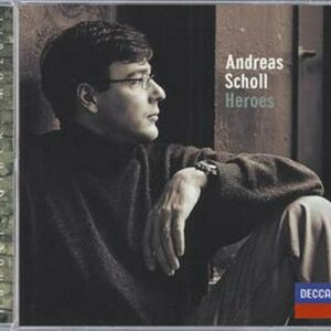 Andréas Scholl : Andreas Scholl-Heroes-Orchestra Of The Age Of Enlightenmentr