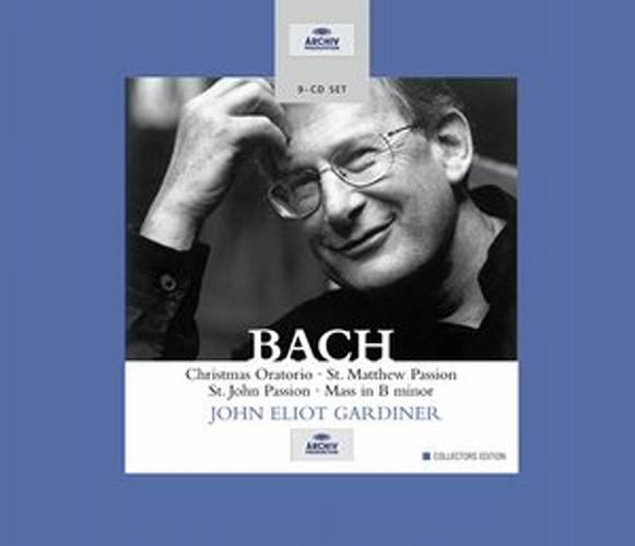 Bach : Œuvres sacrées. Gardiner.