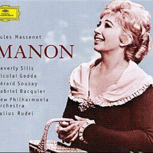 Massenet : Manon-Sills-Gedda-Souzay-Bacquier-Npo-Redel