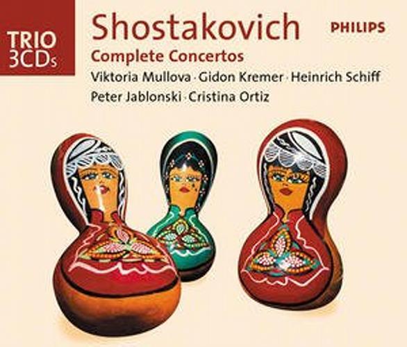 Chostakovitch : Integrale Des Concertos-Mullova-Kremer-Schiff-Jablonskiortiz