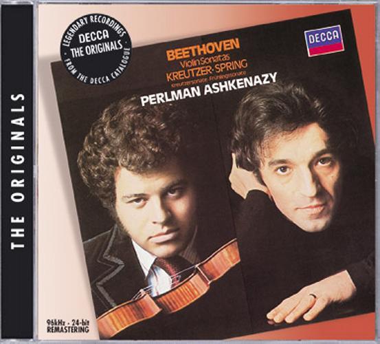 Vladimir Ashkenazy & Itzha Perlman : Sonates Printemps Et Kreutzer