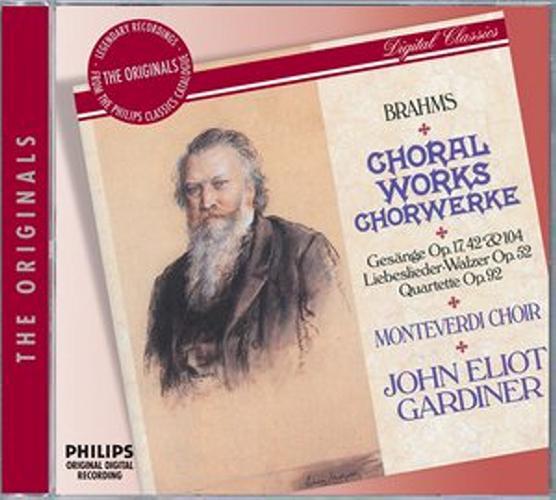 Brahms : Oeuvres Chorales