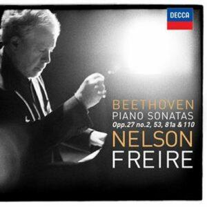 Beethoven/Freire : Sonates pour piano n° 14, 21, 26 et 31