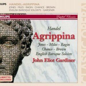 Haendel : Agrippina. Gardiner.