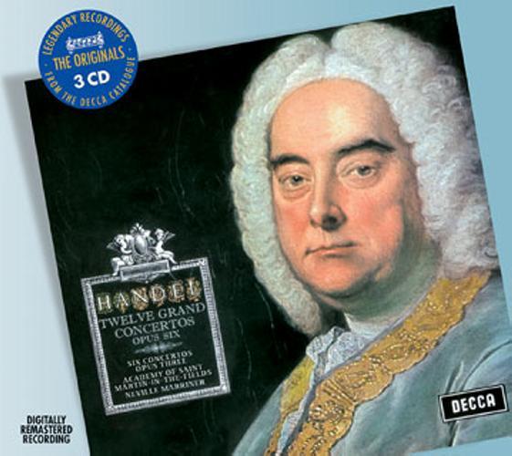 Haendel : Concerti Grossi Op. 3 & 6
