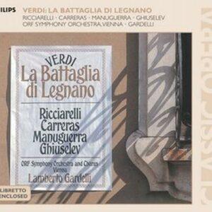 Verdi : La Battaglia Di Legnano