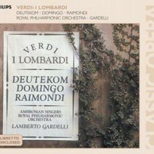 Verdi : I lombardi. Gardelli