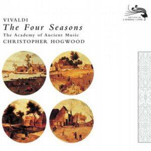 Vivaldi : Les quatre saisons. Hogwood.
