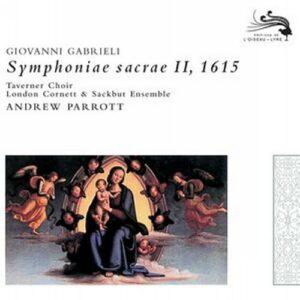 Gabrieli : Symphonae Sacrae 2. Parrott.