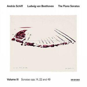 Beethoven/Schiff : Sonates pour piano, vol. 3 / Schiff