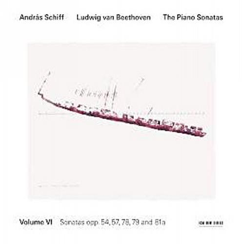 Beethoven : Sonates pour piano op. 54. Schiff.