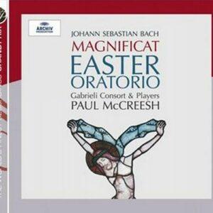 Bach : Oratorio de Pâques, Magnificat. McCreesh.