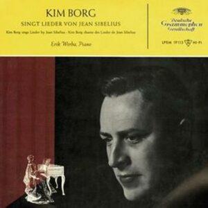 Sibelius : Mélodies. Borg