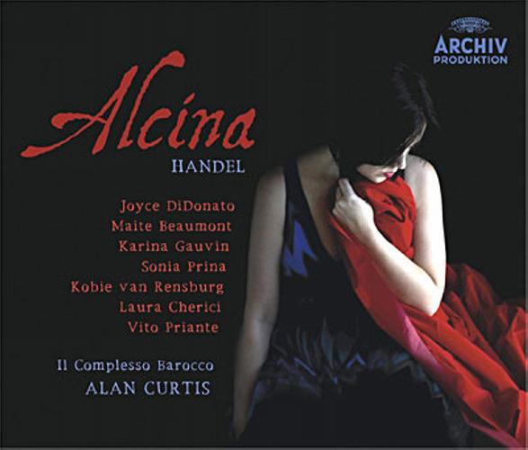 Haendel : Alcina. Curtis.