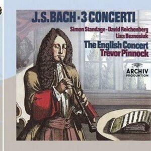 Bach : Concertos pour vents. Pinnock.