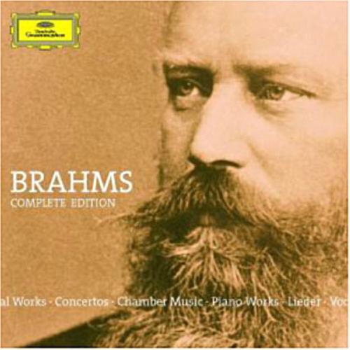 Brahms complete edition.