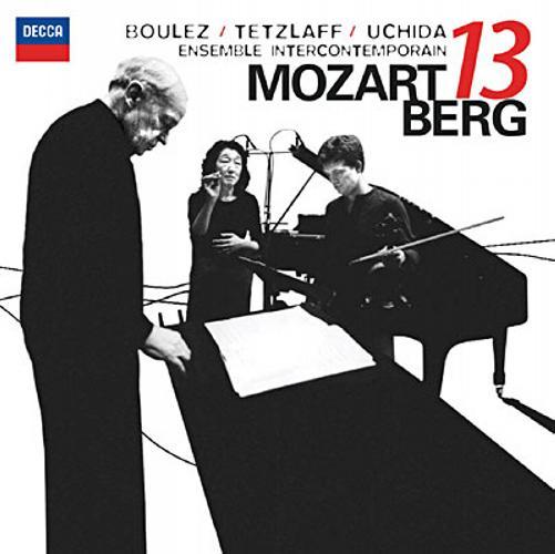 Mozart / Berg : Gran Partita KV 361. Boulez.