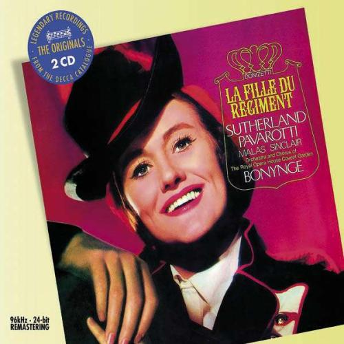 Donizetti : La Fille du Régiment. Sutherland, Pavarotti, Bonynge.