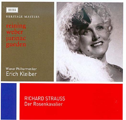 Strauss : Le chevalier à la rose. Kleiber.