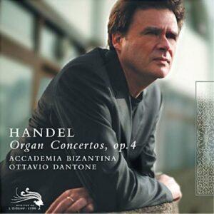 Haendel : Concertos pour orgue. Dantone.