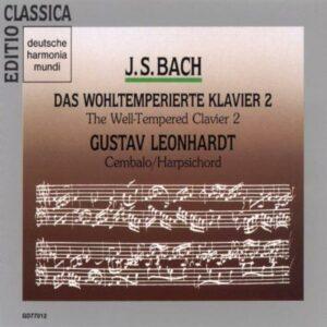 Bach : Le clavecin bien tempéré II. Leonhardt.