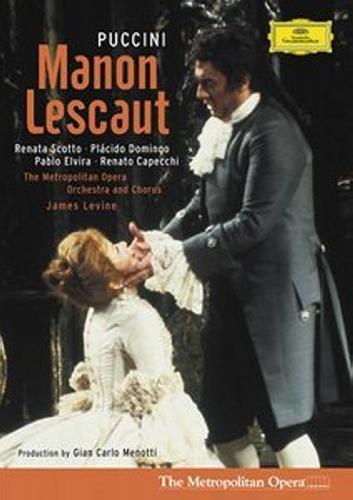 Puccini : Manon Lescaut. Scotto, Domingo, Levine.
