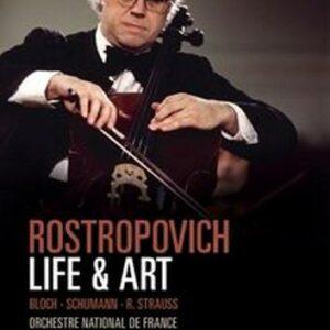 Rostropovich : Schumann, Bloch, Strauss
