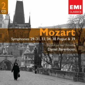 Mozart : Symphonies 29-31, 34,38 & 39