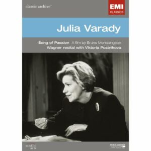 JULIA VARADY : Song of Passion. A. S. Mutter