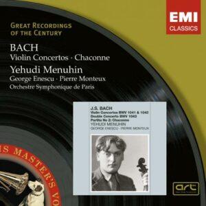 Bach : Concertos pour violon. Menuhin