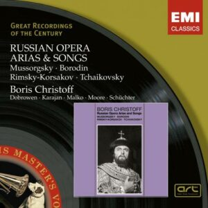 Christoff : Mussorgsky, Borodin, Rimsky-Korsakov