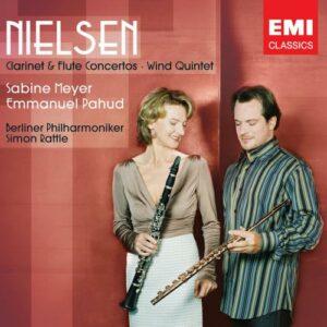 Nielsen : Concertos pour flute et clarinette
