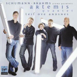 Schumann, Brahms : Quintettes avec piano. Andsnes