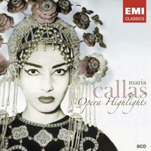 Maria Callas : Opera Highlights (Coffret 8 CD)