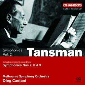 Tansman : Symphonie n°7. Caetani