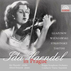 Ida Haendel : Ida Haendel à Prague