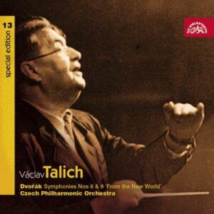 DVORAK : Symphonies n° 8 & 9. V. Talich