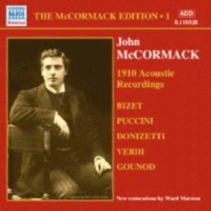 John Mccormack : Acoustic recordings vol. 1 (1910).
