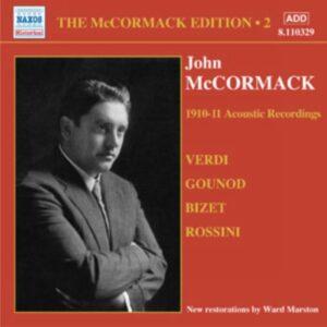 John Mccormack : Acoustic recordings vol. 2 (1910-1911).