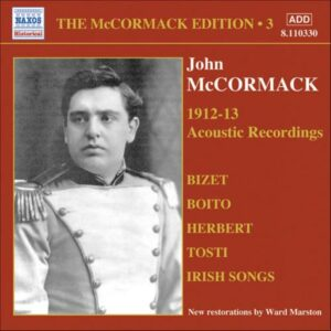 John Mccormack : Acoustic recordings vol. 3 (1912-1913).