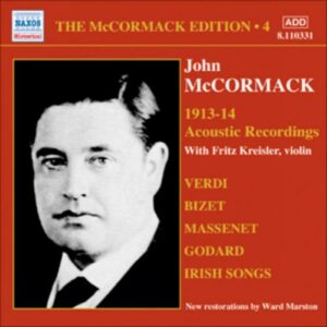John Mccormack : Acoustic recordings vol. 4 (1913-1914).