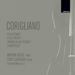 CORIGLIANO : Sonate pour violon… A. Russo