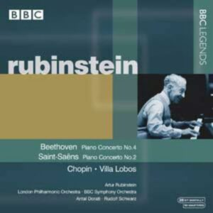 Rubinstein : Beethoven, Saint-Saëns, Villa Lobos