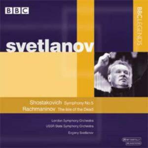 Chostakovitch : Symphonie no 5. Svetlanov