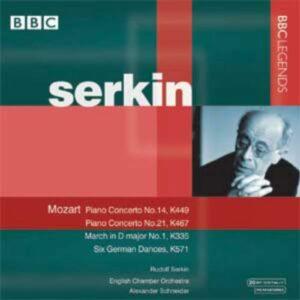 Mozart : Concerto piano KV 449 et 467. Serkin