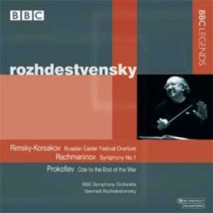 Rojdestvenski : Rimski-Korsakov, Rachmaninov, Prokofiev.